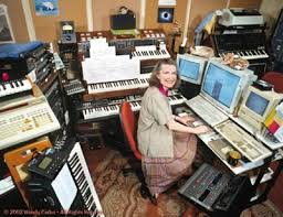 Module-records blog about electronic music: Studio of the month : Wendy  Carlos