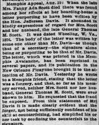 Fanny Ada Scott - Newspapers.com