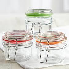 glass jar with sealing lid jar lids
