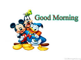 good morning wishes cartoons