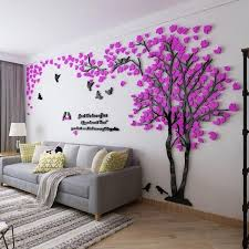 Large Tree Wall Sticker Decal Size Color Varies Wall Stickers Home Decor Tree Wall Murals Wall Stickers Living Room
