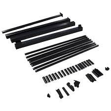 Regal Aluminum Gate Kit 48 Black Asgp Bl Rona