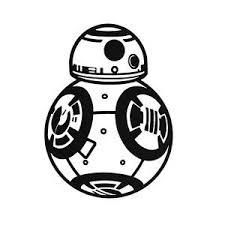Star Wars Bb8 Bb 8 Hard Hat Decal Helmet Window Sticker Funny Label Toolbox Lots Star Wars Bb8 Star Wars Silhouette Star Wars Droids