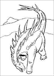 Bewapende Dinosaurus Kleurplaat Gratis Kleurplaten Printen