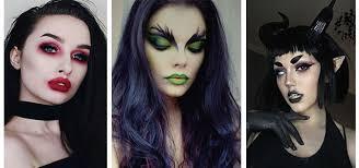 pretty witch makeup modern fashion