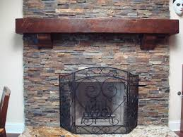 solid wood custom fireplace mantels and