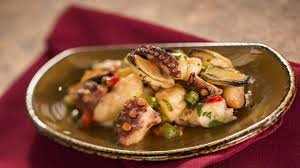 Spain: Seafood Salad With Shrimp, Bay ...