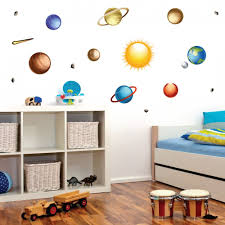 Space Jam In 2020 Solar System Wall Decal Bedroom Wall Wall Decals
