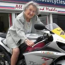 Hilda is still living life in the fast lane at 102 - Manchester ...