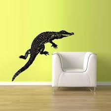Amazon Com Wall Vinyl Sticker Decals Decor Australia Alligator Crocodile Croc Thailand Z1558 Home Kitchen