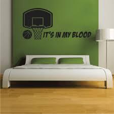 Basketball Wall Decal Removable Easy Application Reusable