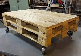 glamorous pallet furniture coffee table