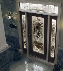 decorative glass insert available