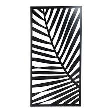 Protector Aluminium Deco Panels Fern Black Bunnings Warehouse