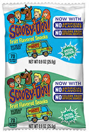 general mills scooby doo fruit shapes