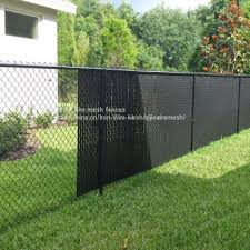 Galvanized Chain Link Fence Buy 8 Ft X 50 Ft Chain Link Fabric Fencing With Razor Barbed Wire For High Level Security On China Suppliers Mobile 159032037