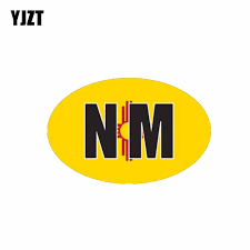 Yjzt 13cm 8 4cm New Mexico Car Sticker Country Code Funny Decal Car Styling 6 0475 Car Stickers Aliexpress