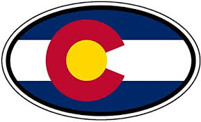 Amazon Com Colorado State Flag Car Bumper Sticker Decal Oval Arts Crafts Sewing
