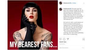 kat von d cuts ties with makeup brand