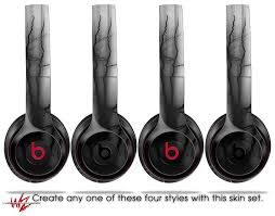 Skin Decal Wrap For Beats Solo 2 And Solo 3 Wireless Headphones Lightning Black Beats Not Included By Wraptorskinz Walmart Com Walmart Com
