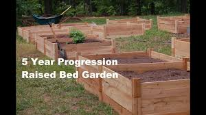5 Year Progression Awesome Raised Bed Garden Greenes Fence Youtube