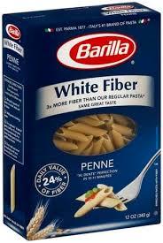 barilla white fiber penne 12 oz