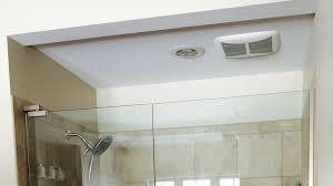 bathroom fan replacement installation