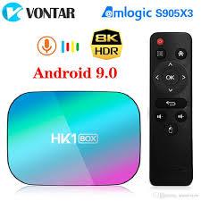 HK1 Box Android 9.0 TV Box Amlogic S905X3 Quad Core 4GB 128GB Dual Wifi 4K  1000M Streaming Smart TV Box Media Player Tv Box Internet Tv Now Box From  Smartview, $34.13