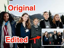 Greta Thunberg slams AP after it crops Vanessa Nakate out of ...