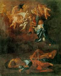 agony in the garden by nicolas poussin