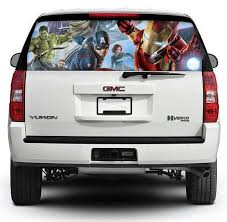 Thor Movies Rear Window Decal Sticker Pick Up Truck Suv Car