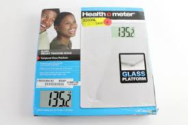 healthometer glass weight tracking
