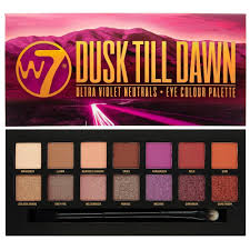 w7 cosmetics dusk till dawn 14 colour