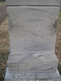 Mary Polly Robb Keller (1806-1892) - Find A Grave Memorial