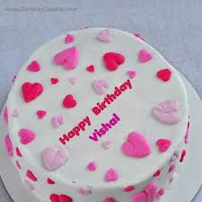 cake image with name vishal cakes gallery