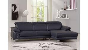emiliano genuine italian leather sectional