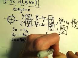 solving trigonometry equations