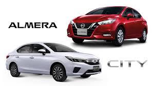 เทียบสเปก Honda City SV กับ Nissan Almera VL ราคาต่างกัน 26,000 บาท - Top  Gear Thailand