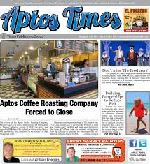 Aptos Times: August 2018 by Times Publishing Group, Inc. - issuu