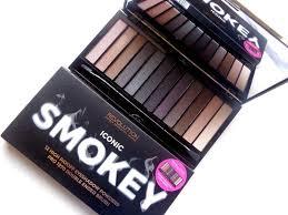 smokey eyeshadow palette grey