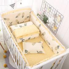 hot cloud printed baby bedding set