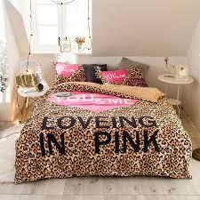 girls bedding set pink
