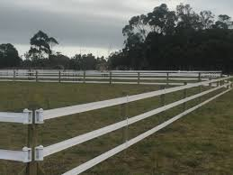 Safe Electrifiable Rail Style Permanent Paddock Fencing Safety4horses Co Za
