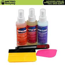 Deluxe Vinyl Wrap Application Kit Metro Series Metro Restyling