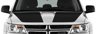 Dodge Journey Main Hood Decals Vinyl Decal Graphic Striping Kit Fits Years 2009 2010 2011 2012 2013 2014 2015 2016 2017 2018 2019 2020