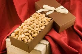 giant whole cashews gift box
