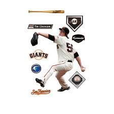 Get Price For Mlb San Francisco Giants Tim Lincecum Wall Decal Maddie Kleckner Dfert