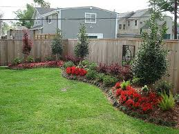 Backyard Landscaping Along Fence Easy Backyard Landscaping Small Front Yard Landscaping Small Yard Landscaping