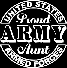 Proud Army Aunt Seal Car Truck Window Bumper And Similar Items