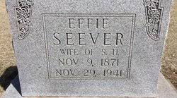 Mary Effie Carter Seever (1871-1941) - Find A Grave Memorial
